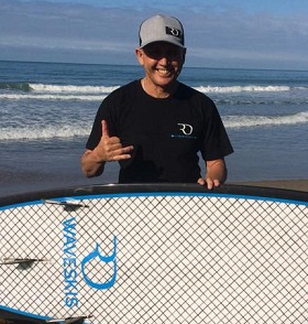 Nickname: Gibsy When started: 1985 as a result of a sports injuries to both knees while playing Rugby and soccer Home Break: Wainui Beach, Makarori Beach Favourite type of wave: Point Break- Makarori Point  Favourite Wave Best surf ever, :Makarori Point ay 4-6 ft
